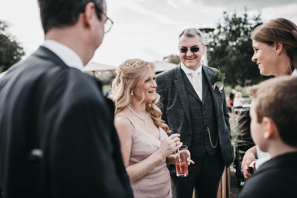 Wootton park outdoor ceremony
