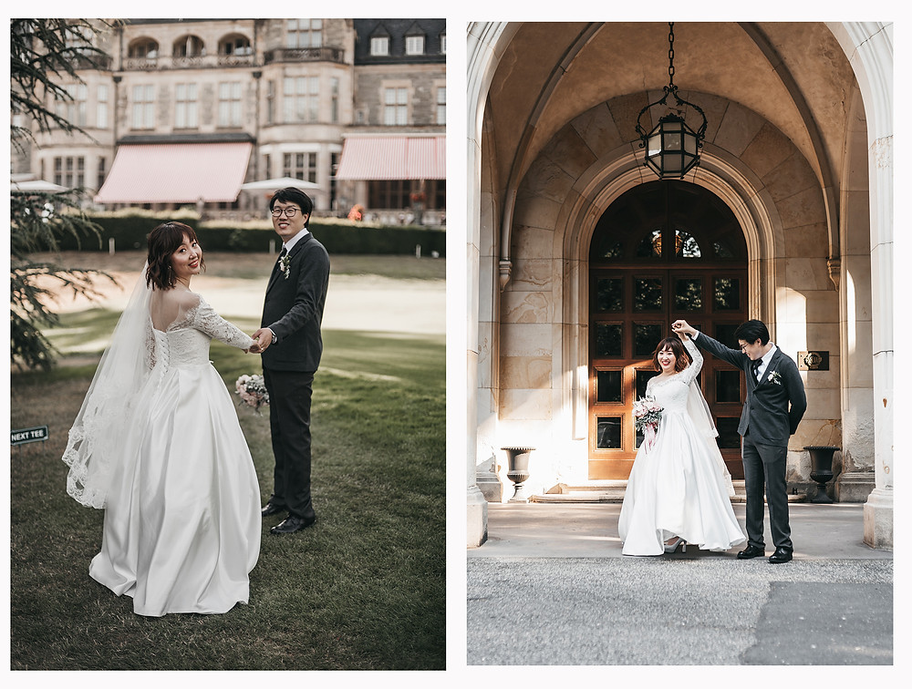 German Castle wedding at Schlosshotel Kronberg Frankfurt