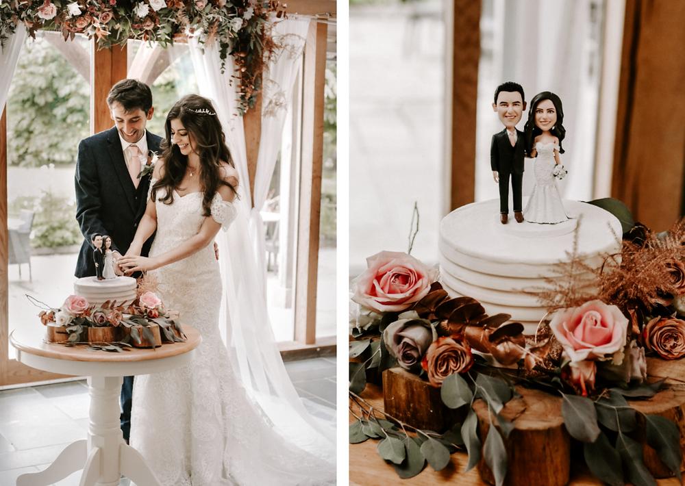 Wedding at The Oak Tree of Peover during coronavirus pandemic