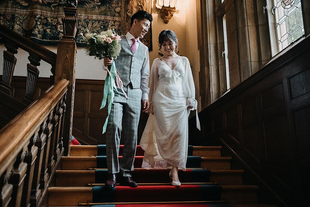 wedding at schlosshotel kronberg germany