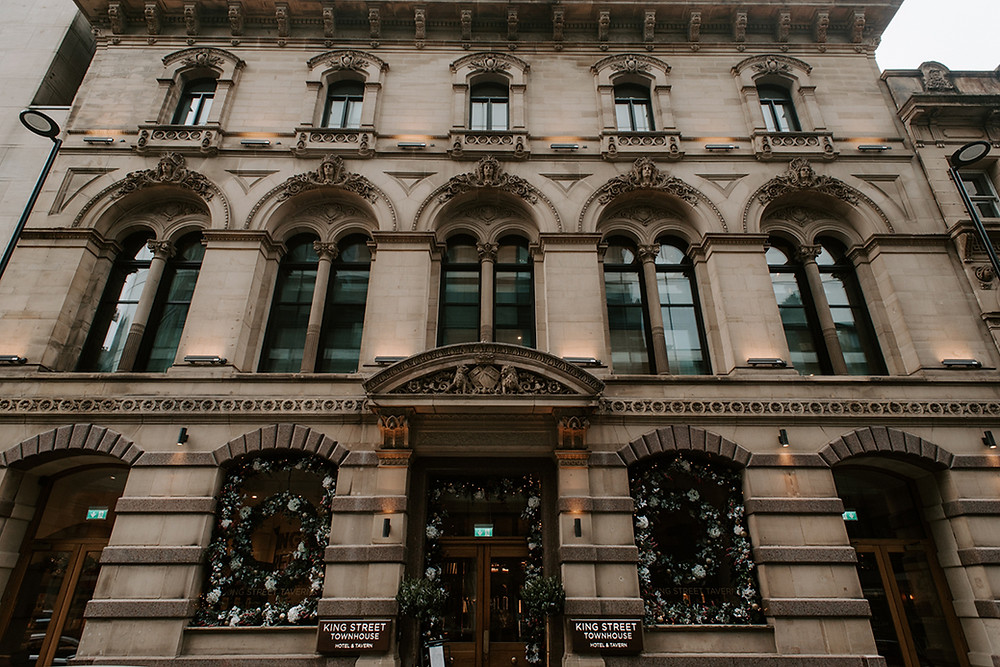 King Street Townhouse Wedding Photography Venue in Central Manchester