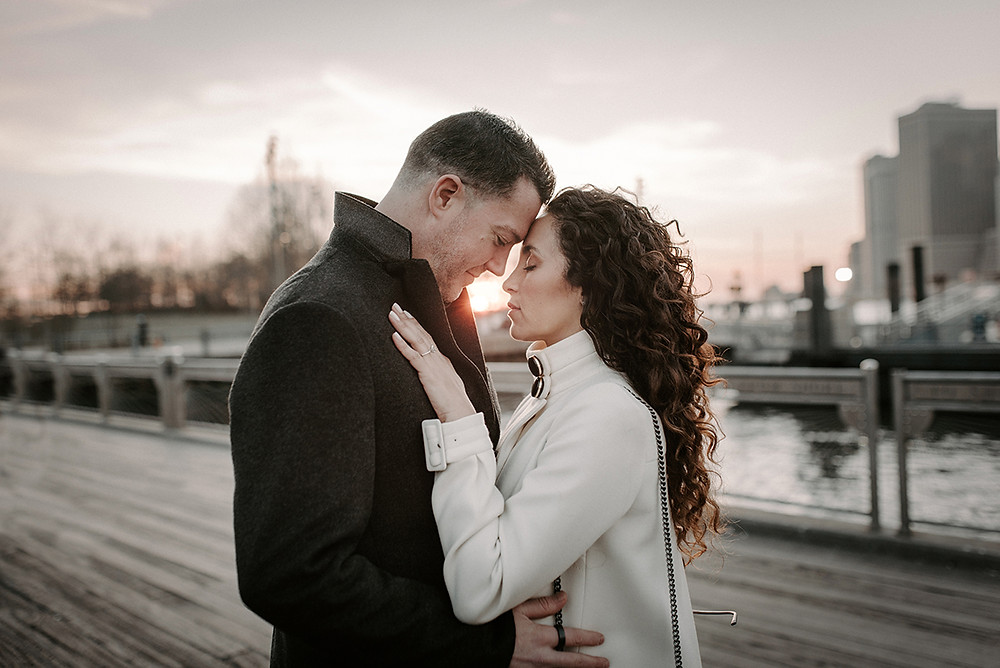 engagement photography in new york, dumbo, brooklyn