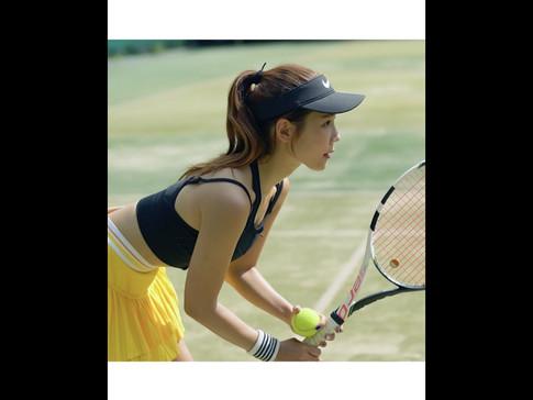 테니스 스포츠 패션