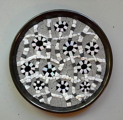 Retro Mosaic Plate / Retro Mozaik Tabak