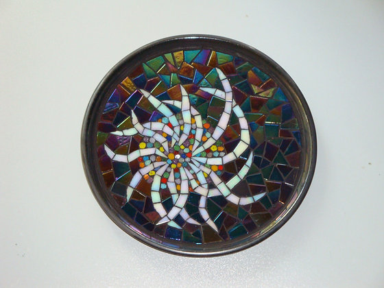 Squid Mosaic Plate / Squid Mozaik Tabak