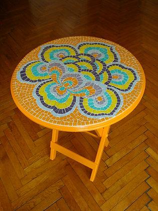 Chinese Flower / Çin Çİçeği Mozaik Sehpa