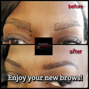 Need thicker brows_ Choose #Microbalding