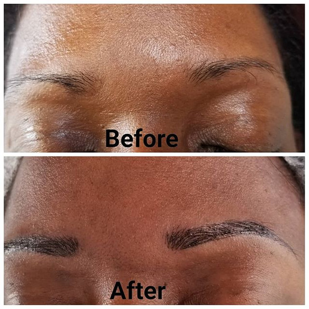 How to get thicker natural looking brows