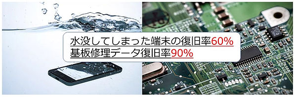 iphone水没基盤修理復旧