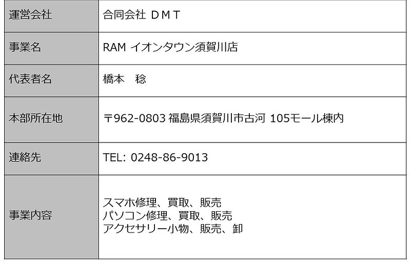 iphone修理イオン須賀川