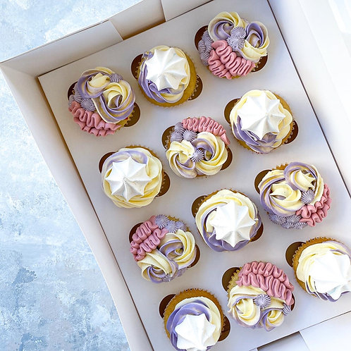 Deluxe Cupcakes (Box of 12)