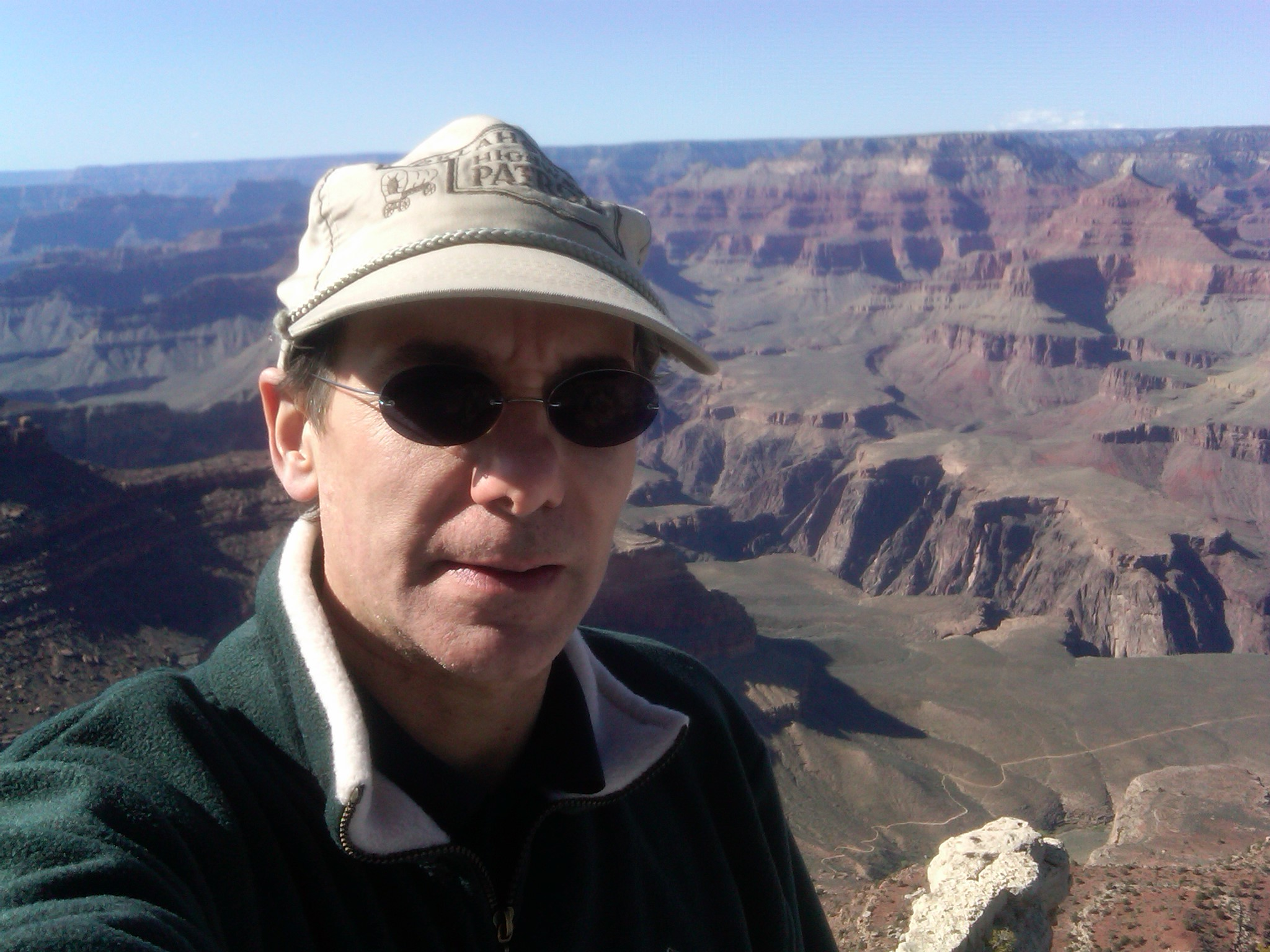self-photograph-grand-canyon-az-march-2011