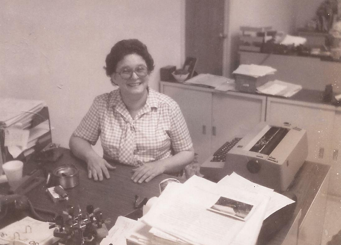 laura-at-work-late-1970s