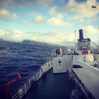 33 heures houleuses à bord de l'Hurtigruten