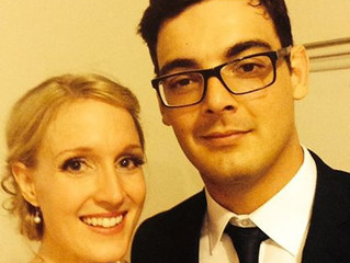 Felipe, his Wife Kate and PhD Project Towards a New Tuberculosis and Leprosy Vaccine