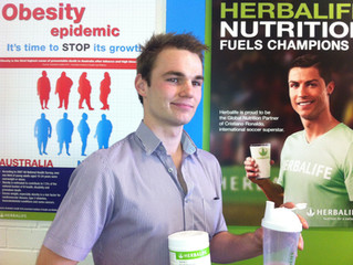 Personal Trainer and Friend Alex is Now Selling Herbalife Products