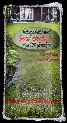 Naturgödselbaserad Gräsmattegödsel med järnsulfat 10kg