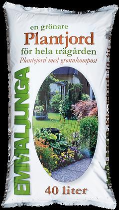 Plantjord med grönkompost 40 liter