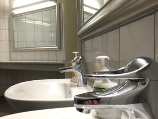 Toaletter och Kapprum