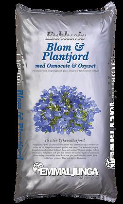 Exklusiv Blom och Plantjord med Osmocote 18 liter
