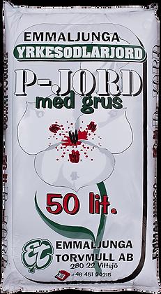 P-Jord med grus 50 liter