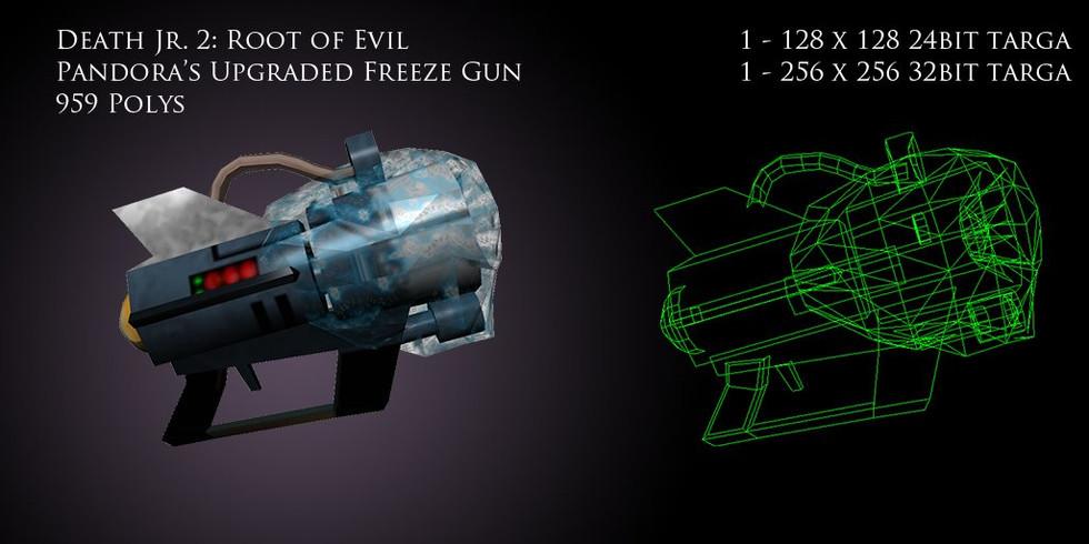 Pandora's Upgraded Freeze Gun