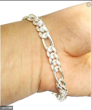 ilver Sterling 92.5 Silver Curb (Sachin) Bracelet for Men and Boys