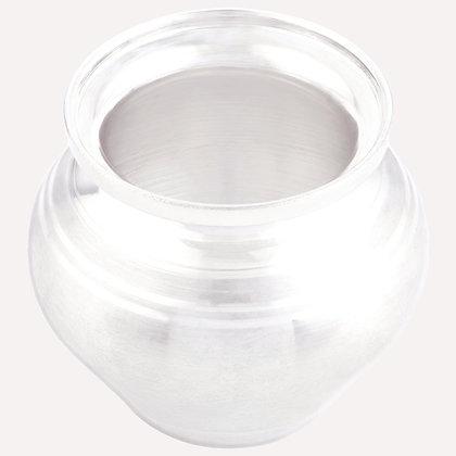 Silver Kalash Lota for Puja (Silver)