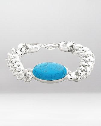 ilver Sterling 92.5 Silver Salman Bracelet for Men and Boys 55 Gram