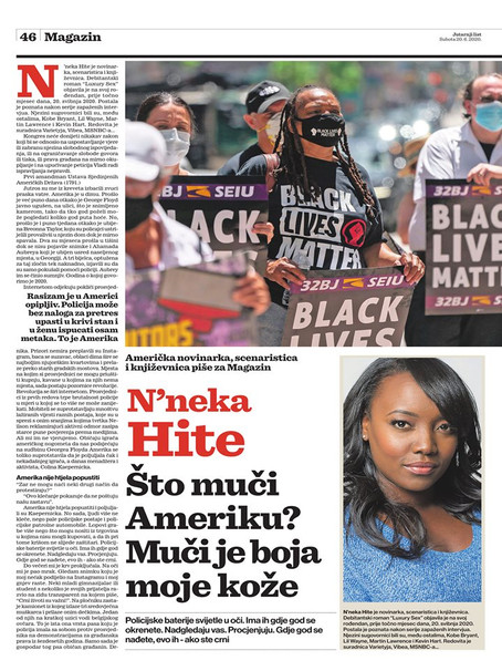I've been published in Croatia!