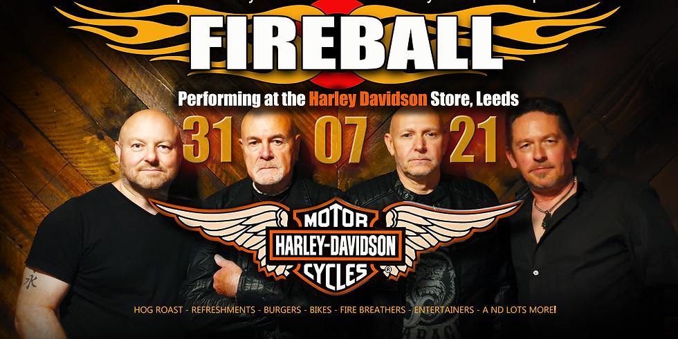 FIREBALL @ The Harley Davidson Store, Leeds