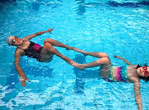 charlotte sami synchronised swimming mel