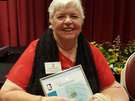 2018 Whitehorse Volunteer of the Year