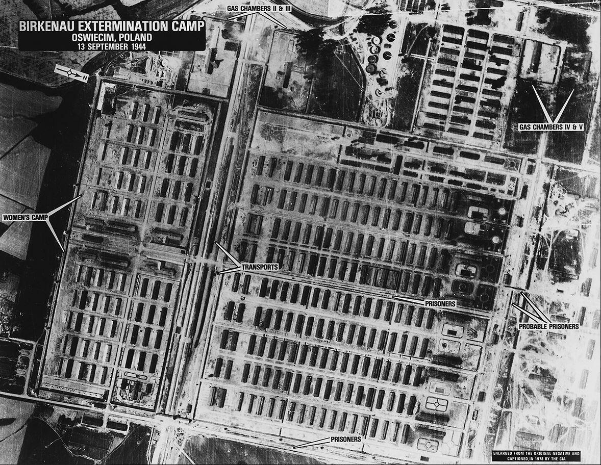Auschwitz Aerial Photo
