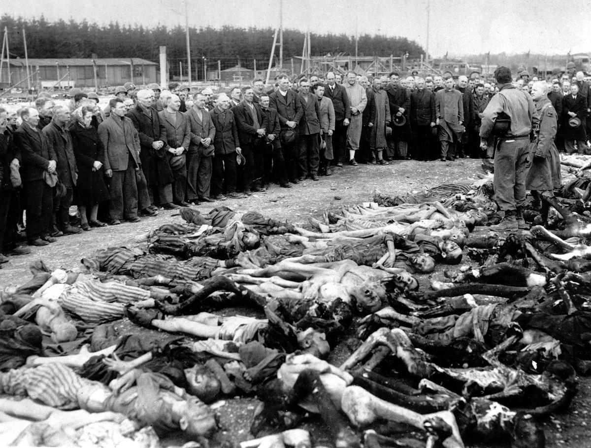 Landsberg concentration camp, on May 15, 1945