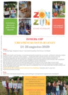 ZON-ZIJN WEEK FLYER 24-28 aug 2020 - 12-