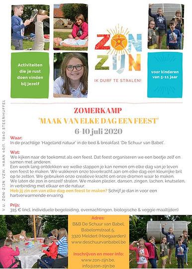 ZON-ZIJN WEEK FLYER 6-10 juli 2020 - 5-1