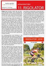 Vorbericht zum Rigolator im Kaiserstühler