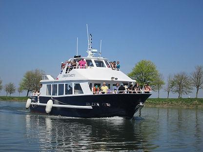 Le bateau de la baie de somme à St Valery sur somme