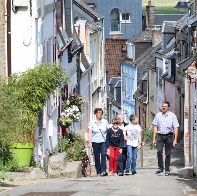 Rue des pilotes Quartier des marins Saint-Valery-sur-Somme