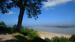 Vue sur la baie depuis les tours Guillaume visite guidée saint-valery-sur-somme en baie de somme