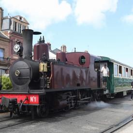 Train à vapeur Saint-Valery-sur-Somme
