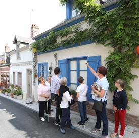 Rue des moulins Quartier des marins Saint-Valery-sur-Somme