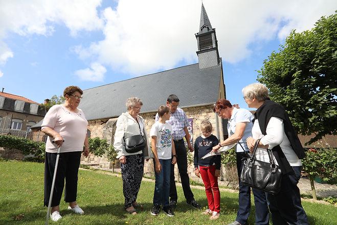 La chapelle Saint Pierre visite guidée quartier des marins saint valery sur somme en baie de somme