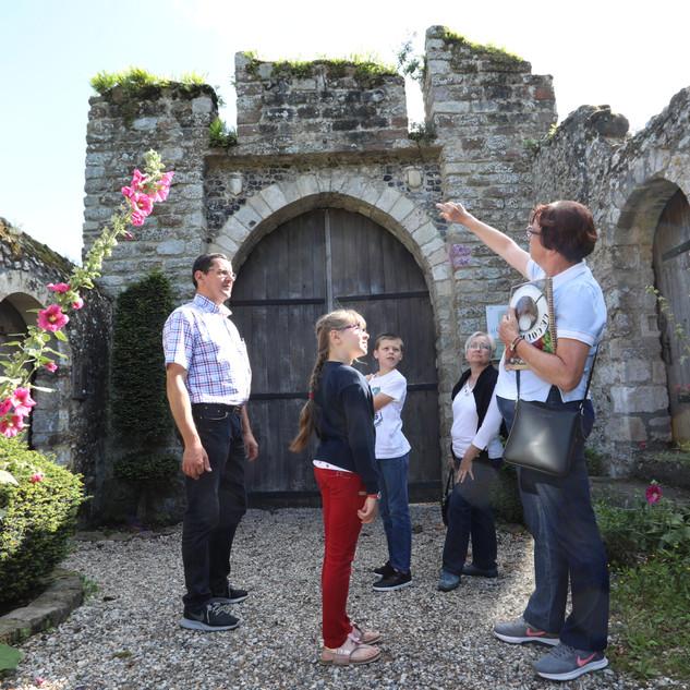 La Porte du château Cité médiévale de Saint-Valery-sur-Somme