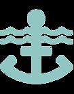 Logo ancre visite guidée quartier des marins Saint valery sur somme en baie de somme