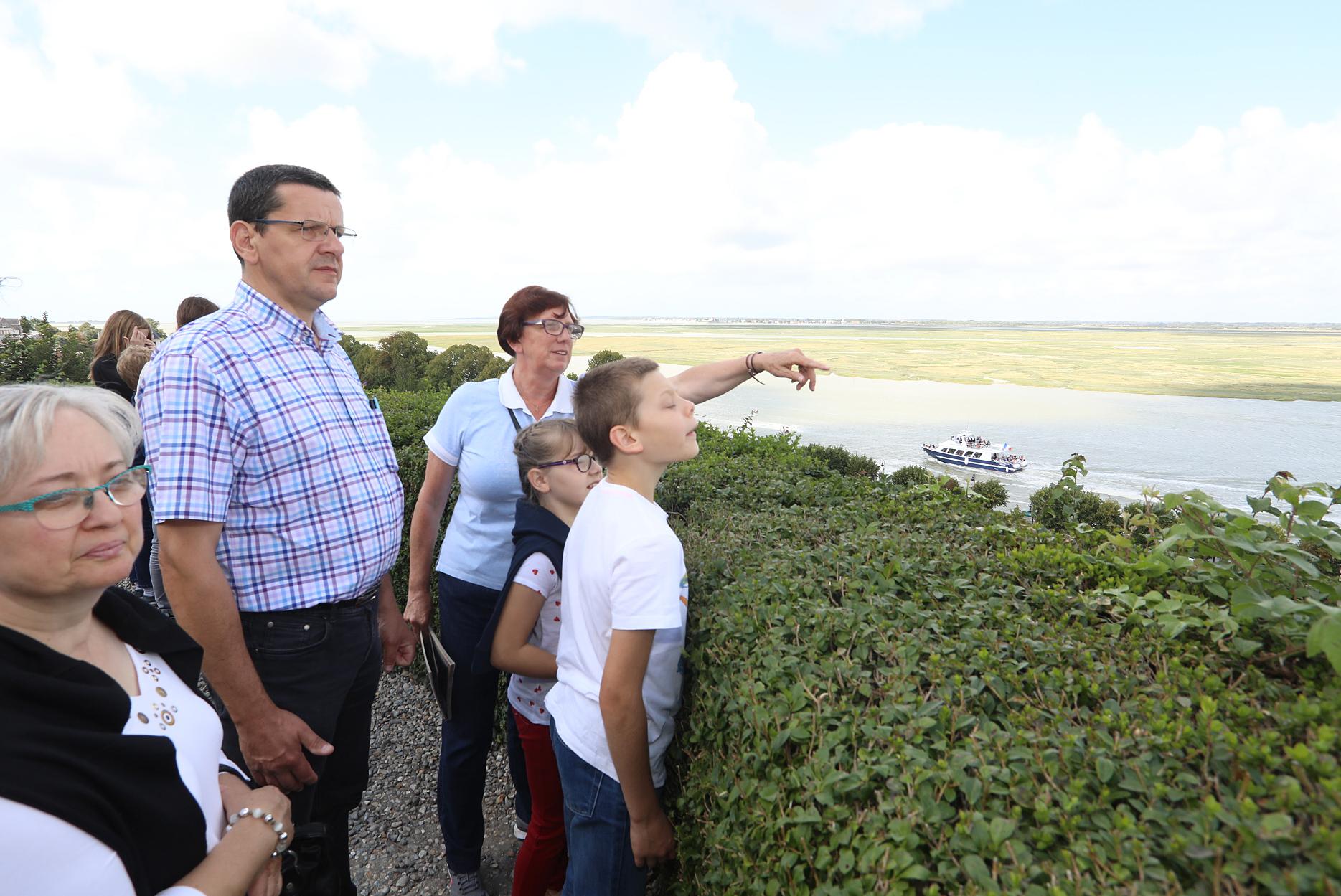 Point de vue du calvaire des marins visite guidée quartier des marins saint valery sur somme en baie