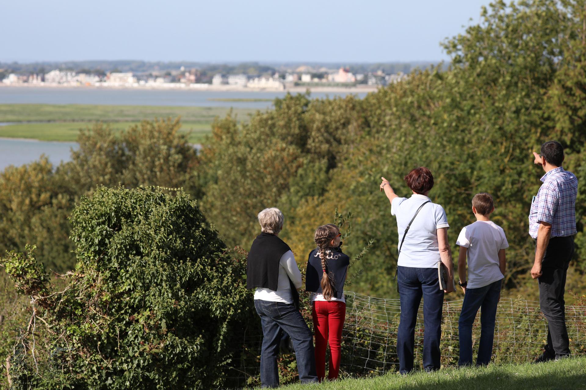 Vue panoramique sur la baie de somme visite guidée quartier des marins saint valery sur somme en bai