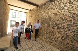 Passage sous l'église Saint-Martin visite guidée du quartier des marins saint-valery-sur-somme en ba
