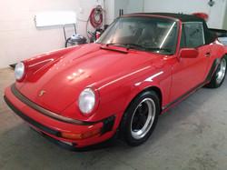 Polishing Porsches